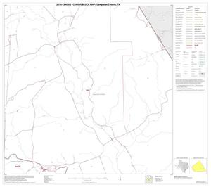 Primary view of object titled '2010 Census County Block Map: Lampasas County, Block 10'.