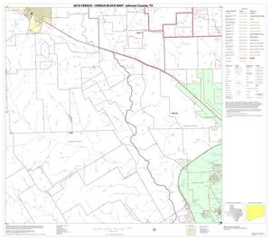 Primary view of object titled '2010 Census County Block Map: Johnson County, Block 7'.
