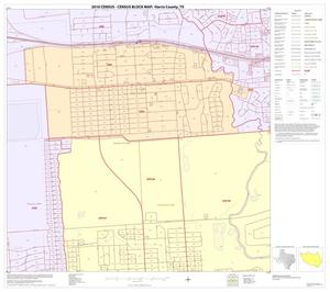 Primary view of object titled '2010 Census County Block Map: Harris County, Block 201'.