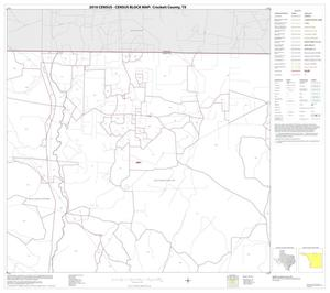Primary view of object titled '2010 Census County Block Map: Crockett County, Block 6'.