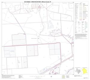 Primary view of object titled '2010 Census County Block Map: Jefferson County, Block 27'.