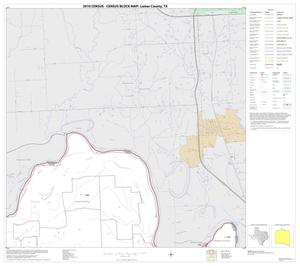 Primary view of object titled '2010 Census County Block Map: Lamar County, Block 2'.