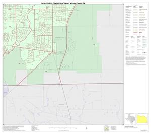 Primary view of object titled '2010 Census County Block Map: Wichita County, Inset E06'.