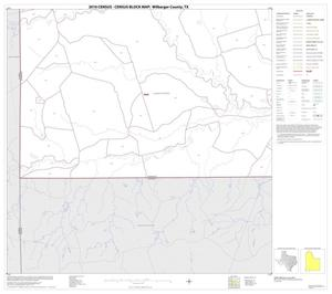 Primary view of object titled '2010 Census County Block Map: Wilbarger County, Block 17'.