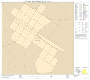 Primary view of object titled '2010 Census County Block Map: Gregg County, Inset A01'.
