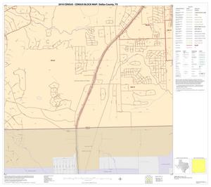 Primary view of object titled '2010 Census County Block Map: Dallas County, Block 74'.