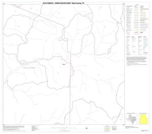 Primary view of object titled '2010 Census County Block Map: Real County, Block 6'.