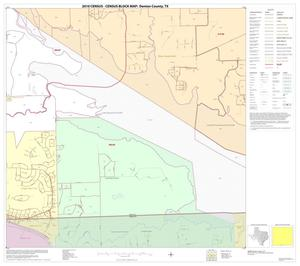 Primary view of object titled '2010 Census County Block Map: Denton County, Block 85'.
