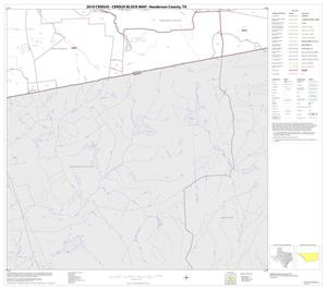 Primary view of object titled '2010 Census County Block Map: Henderson County, Block 28'.