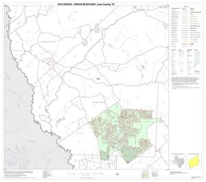 Primary view of object titled '2010 Census County Block Map: Leon County, Block 17'.
