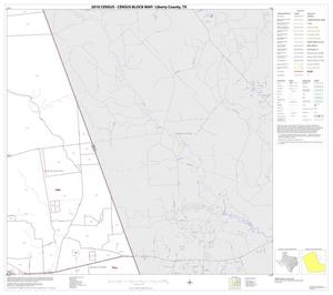 Primary view of object titled '2010 Census County Block Map: Liberty County, Block 8'.