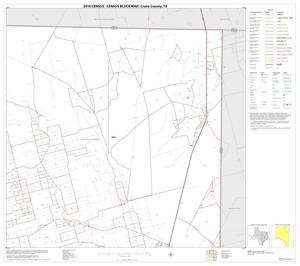 Primary view of object titled '2010 Census County Block Map: Crane County, Block 3'.
