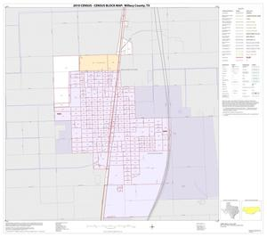 Primary view of object titled '2010 Census County Block Map: Willacy County, Inset A01'.