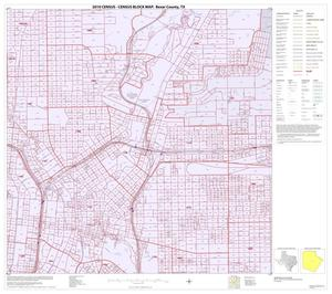Primary view of object titled '2010 Census County Block Map: Bexar County, Inset F04'.