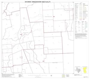 Primary view of object titled '2010 Census County Block Map: Waller County, Block 8'.