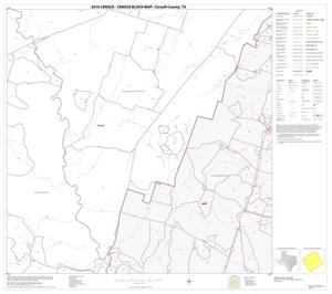 Primary view of object titled '2010 Census County Block Map: Coryell County, Block 17'.