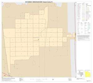 Primary view of object titled '2010 Census County Block Map: Grayson County, Inset N01'.
