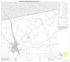 Primary view of object titled '2010 Census County Block Map: Houston County, Block 3'.