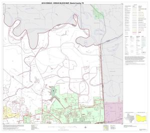 Primary view of object titled '2010 Census County Block Map: Bowie County, Block 8'.