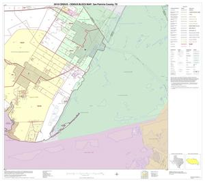 Primary view of object titled '2010 Census County Block Map: San Patricio County, Block 16'.