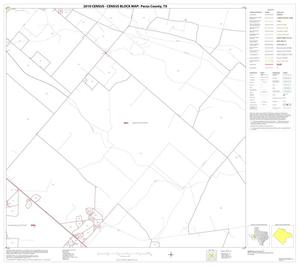 Primary view of object titled '2010 Census County Block Map: Pecos County, Block 10'.