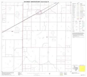Primary view of object titled '2010 Census County Block Map: Carson County, Block 11'.