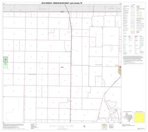 Primary view of object titled '2010 Census County Block Map: Lynn County, Block 2'.