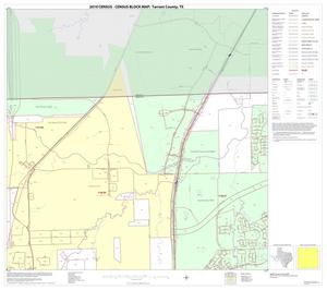 Primary view of object titled '2010 Census County Block Map: Tarrant County, Block 4'.