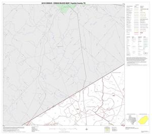 Primary view of object titled '2010 Census County Block Map: Fayette County, Block 2'.