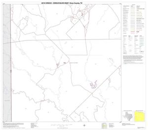 Primary view of object titled '2010 Census County Block Map: Knox County, Block 9'.