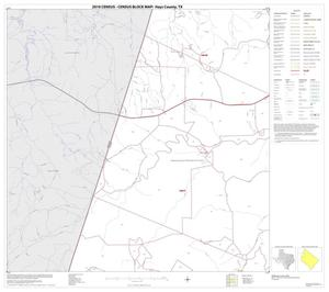 Primary view of object titled '2010 Census County Block Map: Hays County, Block 3'.