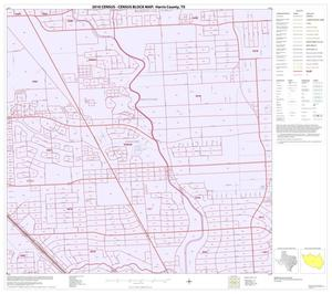 Primary view of object titled '2010 Census County Block Map: Harris County, Block 154'.