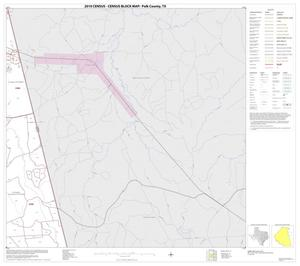 Primary view of object titled '2010 Census County Block Map: Polk County, Block 12'.