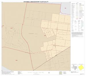 Primary view of object titled '2010 Census County Block Map: Coryell County, Inset K01'.
