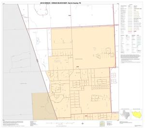 Primary view of object titled '2010 Census County Block Map: Harris County, Block 167'.