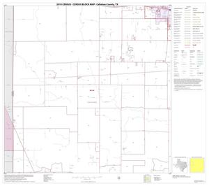 Primary view of object titled '2010 Census County Block Map: Callahan County, Block 5'.