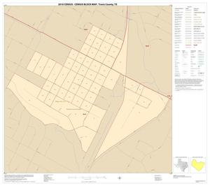 Primary view of object titled '2010 Census County Block Map: Travis County, Inset A01'.