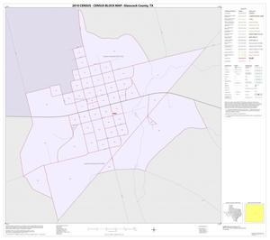 Primary view of object titled '2010 Census County Block Map: Glasscock County, Inset A01'.