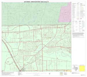Primary view of object titled '2010 Census County Block Map: Dallas County, Block 3'.