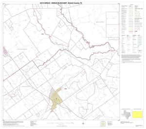 Primary view of object titled '2010 Census County Block Map: Dimmit County, Block 8'.