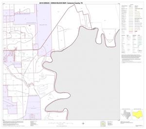 Primary view of object titled '2010 Census County Block Map: Cameron County, Block 62'.