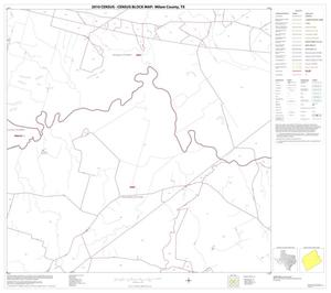 Primary view of object titled '2010 Census County Block Map: Milam County, Block 13'.