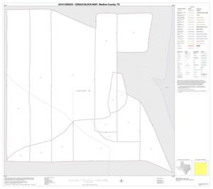 Primary view of object titled '2010 Census County Block Map: Medina County, Inset A01'.