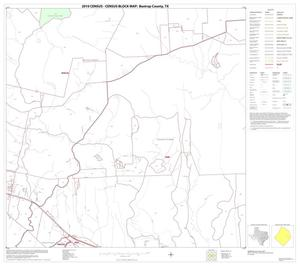 Primary view of object titled '2010 Census County Block Map: Bastrop County, Block 19'.