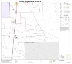 Primary view of object titled '2010 Census County Block Map: Jim Wells County, Block 12'.