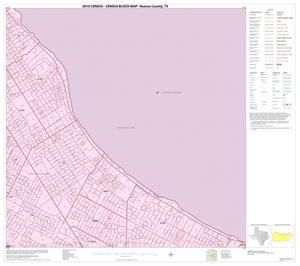 Primary view of object titled '2010 Census County Block Map: Nueces County, Inset B06'.