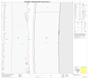 Primary view of object titled '2010 Census County Block Map: Kenedy County, Block 10'.