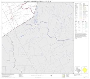 Primary view of object titled '2010 Census County Block Map: Colorado County, Block 25'.