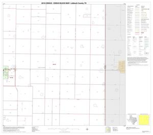 Primary view of object titled '2010 Census County Block Map: Lubbock County, Block 8'.