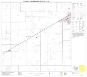Primary view of object titled '2010 Census County Block Map: Ochiltree County, Block 6'.